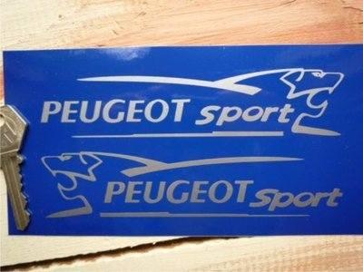 peugeot sport lion cut vinyl stickers 6 pair. Black Bedroom Furniture Sets. Home Design Ideas