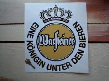 """Warsteiner Crest Sponsors Sticker. 12""""."""