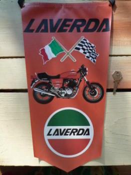 Laverda Motorbike Banner Pennant