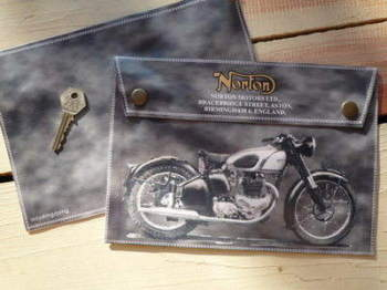 Norton Birmingham, England, Medium Document Holder/Toolbag