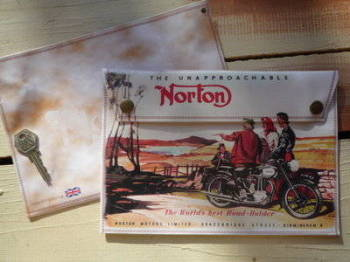 Norton The World's Best Road-Holder Medium Document Holder/Toolbag