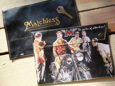 Matchless The Centre of Attention Medium Document Holder/Toolbag