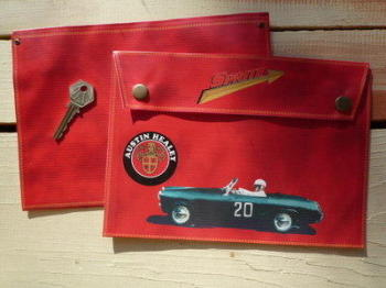 Austin Healey Sprite Medium Document Holder/Toolbag