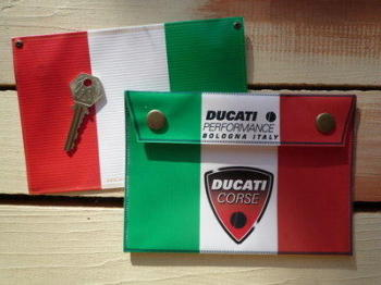 Ducati Corse Small Document Holder/Toolbag
