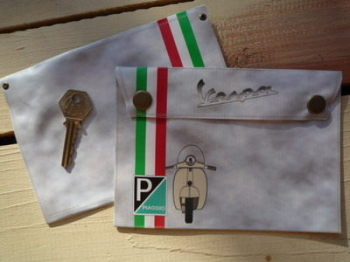 Vespa & Piaggio Small Document Holder/Toolbag