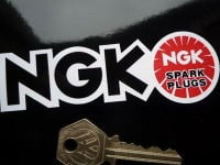 NGK Spark Plugs Cut to Shape Stickers. 4.5