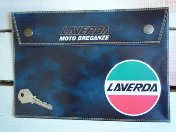 Laverda 'Moto Breganze' Grey Medium Document Holder/Toolbag.