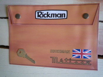 Rickman Metisse Medium Document Holder/Toolbag,