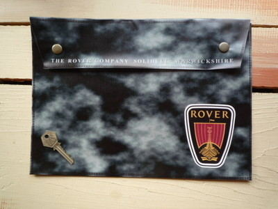 Rover Large A4 Document Holder/Toolbag.