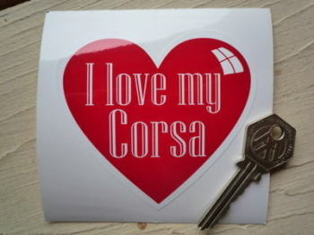I Love My Corsa
