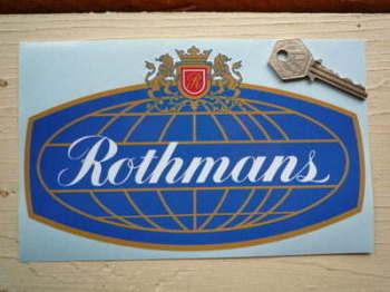 """Rothmans Globe Sticker. 8""""."""