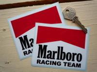 Marlboro Racing Team Body or Window Stickers. 4