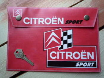 Citroen Sport Medium Document Holder/Toolbag
