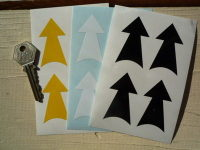 TOW Racing Car Arrows. Set of 4. 2