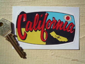 "California Sticker. 3.5""."