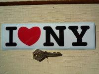 New York I Love NY <3 Sticker. 8