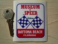 Florida Daytona Beach Museum of Speed Sticker. 2.75