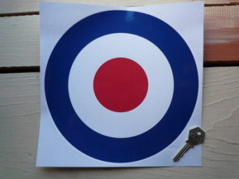 "RAF Roundel Sticker. 8.5"" or 9.5""."