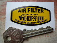 Vokes Ltd Air Filter Sticker. 2