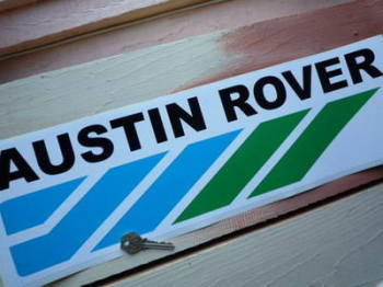 "Austin Rover Racing Sticker. 14"" or 20""."