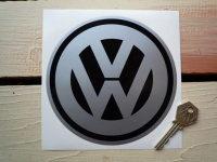 "VW Volkswagen Circular Logo Sticker. 5.5""."