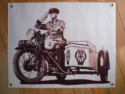 BSA AA Sidecar Banner Art. 28