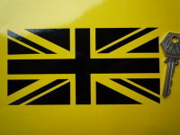 Union Jack Cut Vinyl Sticker. 6