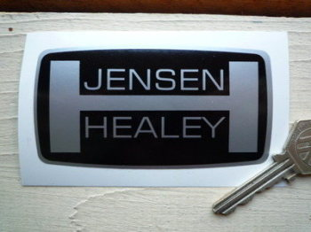 "Jensen Healey Badge Style Sticker. 4""."