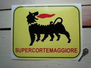 """Supercortemaggiore Large Sticker. 12""""."""
