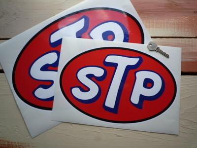 STP Oval Sticker. 12