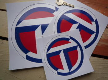 "Talbot Circular Logo Sticker. 5"", 6"", 8"" or 8.25""."
