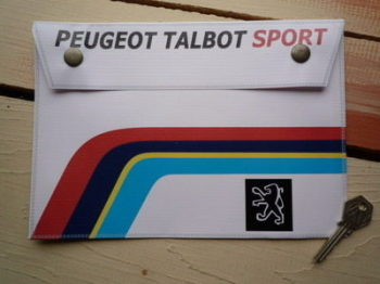 "Peugeot Talbot Sport Document Holder/ Tool Bag. 10"" or A4."