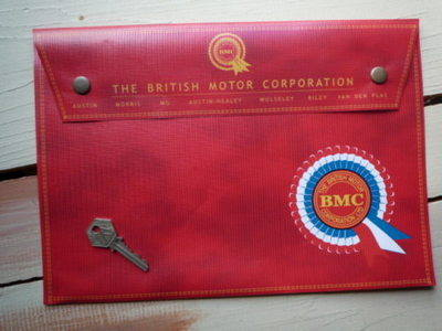"BMC Rosette Document Holder/Toolbag. 10"" or A4."