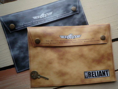 "Reliant Document Holder/Toolbag. 10""."