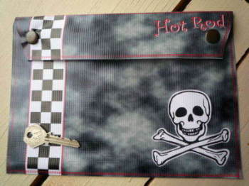 Hot Rod Document Holder/Toolbag 10""
