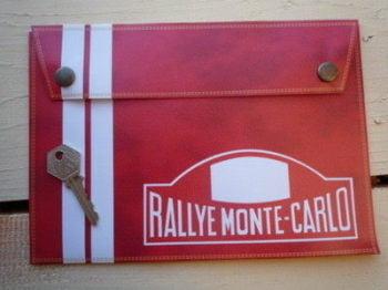 Rallye Monte-Carlo Document Holder/Toolbag. Medium or Large.