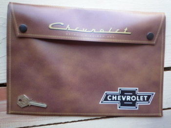 Chevrolet Document Holder/Toolbag. A4.