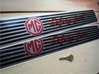 MG Safety Fast Kickplate Sill Protector Stickers. 20