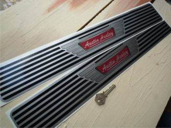 "Austin Healey Kickplate Sill Protector Stickers. 20"" Pair."