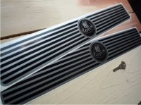 Lotus Kickplate Sill Protector Stickers. 500mm or 800mm Pair.