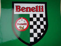 "Benelli Shield Sticker. 3""."