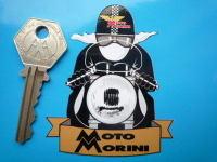 "Moto Morini Cafe Racer Sticker. 3""."