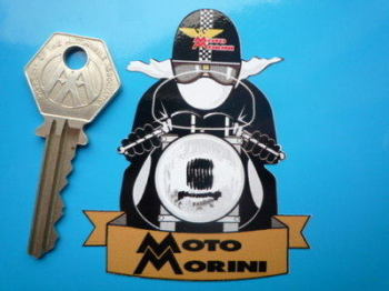 "Moto Morini Cafe Racer Sticker. 3""."