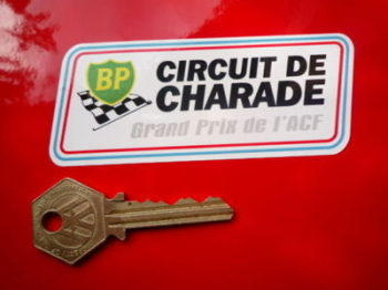 "Circuit de Charade BP Grand Prix de l'ACF Sticker. 4""."
