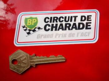 """Circuit de Charade BP Grand Prix de l'ACF Sticker. 4""""."""