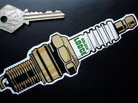 Golden Lodge Spark Plug Sticker. 6