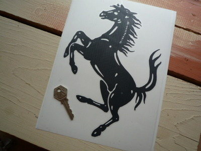 Ferrari Cut Vinyl Prancing Horse Sticker 4 Or 10