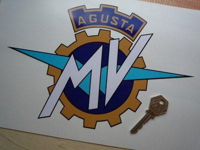 MV Agusta Full Colour Cut To Shape Sticker. 10