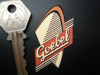 """Goebel Moped Headstock. 2""""."""