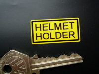 Helmet Holder Classic Japanese Bike Stickers. 1